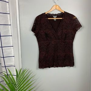 Ann Taylor Lace Top